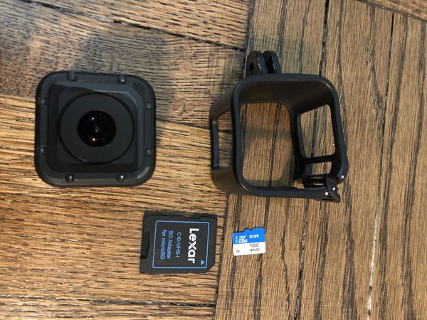 GoPro HERO Session w/ Accessories & Memory Card