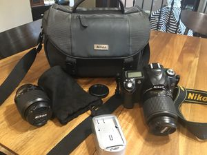 Nikon D50 camera and accessories for Sale in Henderson, NV
