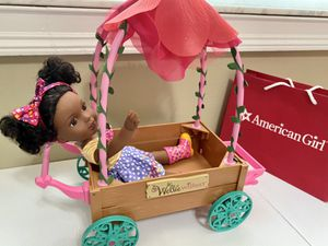 American Girl AG Love & Caring Carriage Set With Kendall Wellie Wishers Doll for Sale in Miami, FL