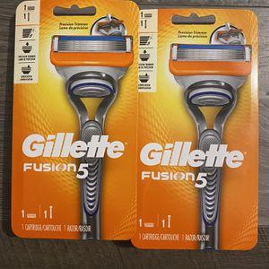 Gillette fusion 5 razor $6 each for Sale in San Bernardino, CA