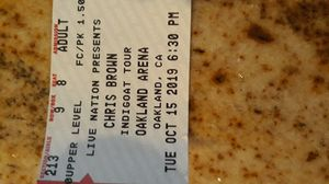 Chris Brown Oakland Arena for Sale in Hayward, CA