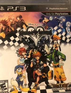 Kingdom Hearts 1.5 & 2.5 for PS3 for Sale in Upland, CA