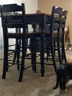 bar height dining room table $1000 table asking $300 for Sale in Marysville, CA