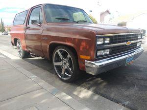 1982 Chevy Blazer original 2 wheel drive for Sale in Henderson, NV