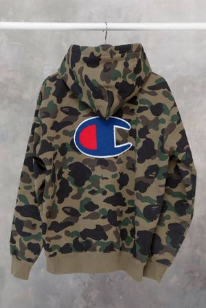 Bape x champion hoodie for Sale in Virginia Beach, VA