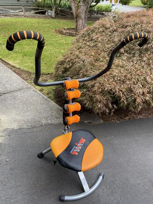 AB DOER twist exercise machine w/extra rollers for Sale in Lynnwood, WA