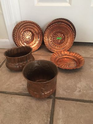 Copper plates for Sale in Scottsdale, AZ