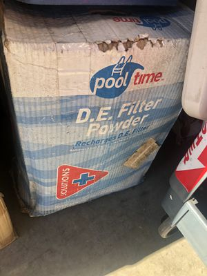 POOL D.E. Filter Powder for Sale in Escondido, CA