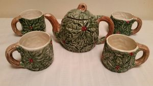 COFFEE/TEA KETTLE and CUPS SET for Sale in Bowie, MD