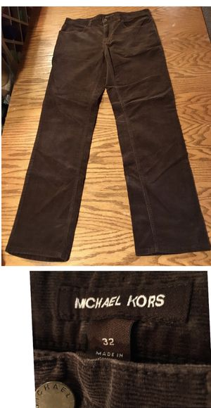 Michael Kors brown corduroys size 32-32 for Sale in Portland, OR