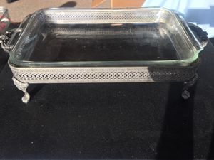 Vintage Silver Chafing Dish Stand for Sale in Brandon, FL