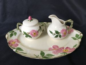 Vintage late 1950's Franciscan Desert Rose Dinnerware for Sale in Kernersville, NC