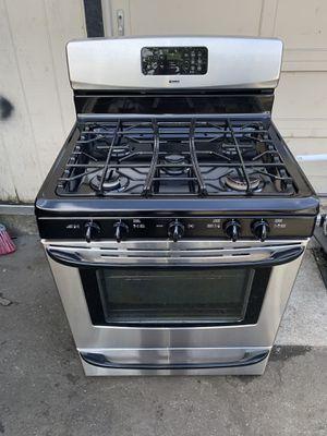 Gas stove kenmore 5 burners good condition 90 days warranty estufa gas kenmore 5 kemadores buenas condiciones 90 dias de garantía for Sale in San Leandro, CA