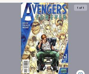 Avengers forever comic book number one of 12 for Sale in Clarksburg, WV