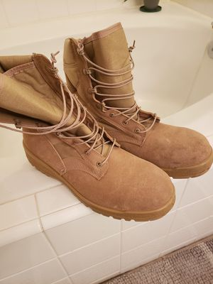 Marine military boots new for Sale in Fresno, CA
