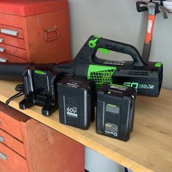 Greenworks Battery Powered Leaf Blower for Sale in Los Angeles,  CA