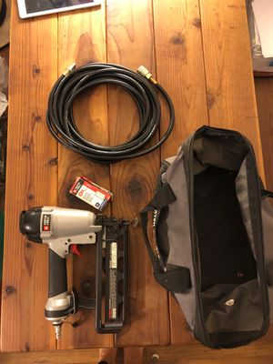 Porter Cable Nail Gun and bag (only) EXCELLENT CONDITION for Sale in San Diego, CA