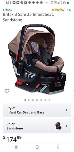 Britax B 35 Infant car seat, Sandstone for Sale in Piqua, OH