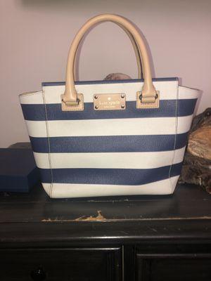 Make an offer!!Kate Spade Blue & White Nautical Handbag - Like New for Sale in Hendersonville, TN