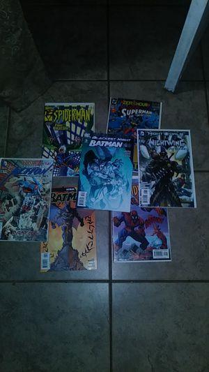 Comic books spider man superman batman etc for Sale in Houston, TX