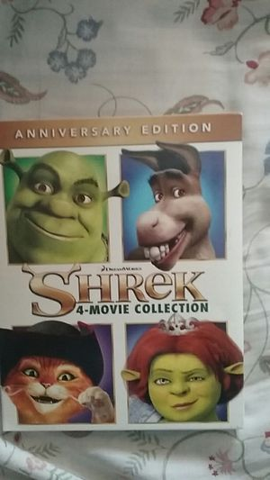 Shrek collection movies for Sale in Los Angeles, CA