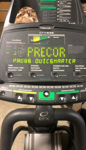 Precor elliptical for Sale in Tulsa, OK