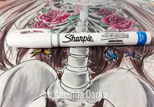 White sharpie paint marker for Sale in Centerville, GA
