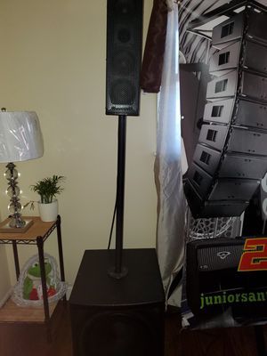 Blank more speakers dj professional for Sale in Waukegan, IL