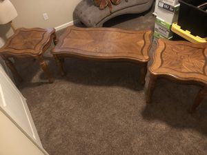 Coffee/end table set for Sale in Bakersfield, CA