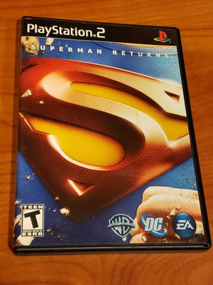 PS2-Superman Returns: The Video Game for Sale in Chambersburg, PA