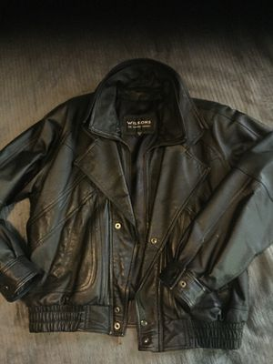 Wilson leather Jacket for Sale in Oxon Hill, MD