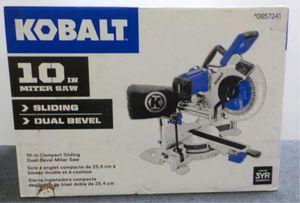 "Kobalt 10"" Sliding Dual Bevel Compound Miter Saw for Sale in Nicholasville, KY"