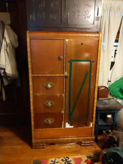 Art Deco Vintage Armoire for Sale in Cleveland,  OH