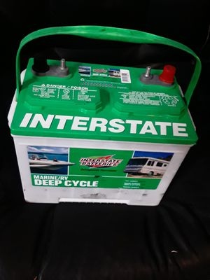 Deep cycle batteries 50 dollars one year warranty for Sale in Los Angeles, CA