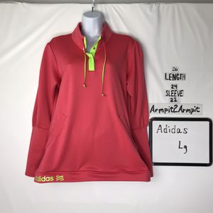 Adidas 1/2 Snap Shirt Lg for Sale in Rockford, IL