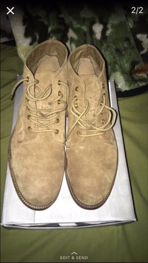 Suede tan boots Size 11 for Sale in Silver Spring, MD