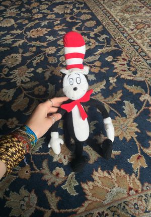 Cat in the Hat Plush 2003 Official Movie Merch for Sale in Leavenworth, WA