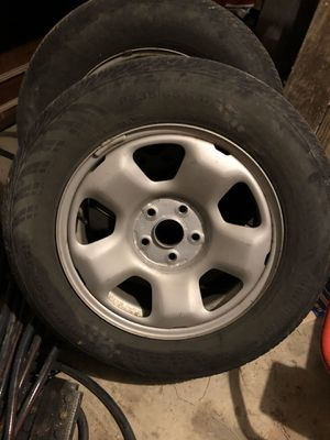 """Honda 17"""" rims and tires for Sale in Cockeysville, MD"""