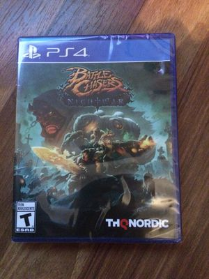 sealed ps4 battle chasers for Sale in Marengo, OH