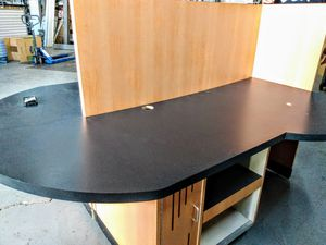Office double desk top and cubicle for Sale in Cleveland, OH