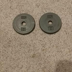 Weights - 5 lb each for Sale in Lynnwood, WA