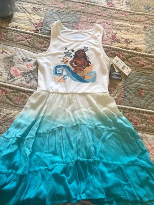 Moana Disney Girl dress size 6x for Sale in East Los Angeles, CA