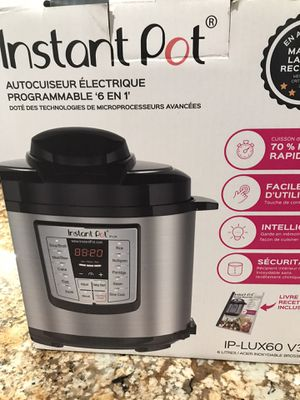 Instant Pot 6qt for Sale in Rancho Cucamonga, CA