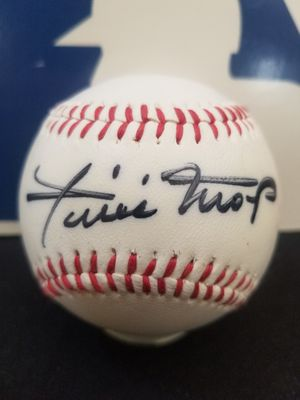 Willie Mays signed baseball for Sale in Hayward, CA