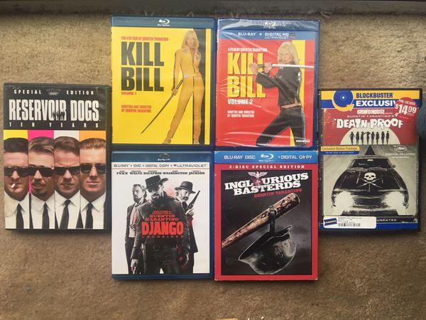 Tarentino Blu-Ray / DVD Collection