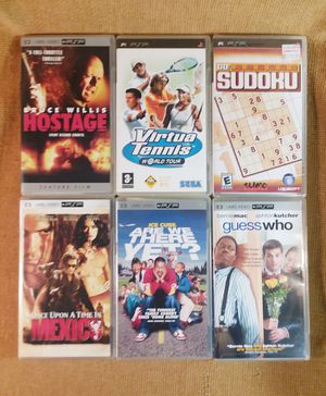 PSP Movies & Games for Sale in Birmingham, AL