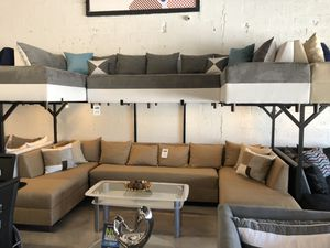 3 Piece U Sectional Sofa for Sale in Hialeah, FL