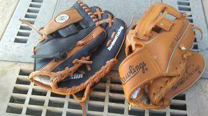 Kids baseball gloves. T-Ball sized. for Sale in Lakeside, CA