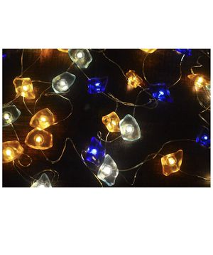 Nautical Sea Theme Decorative Sea Glass String Lights Beach Lights with Remote 10 ft 40 LEDs for Covered Outdoor Camping Wedding Birthday Bedroom Par for Sale in Montclair, CA