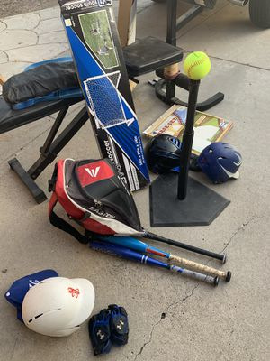 Little league baseball gear Package for Sale in Chula Vista, CA